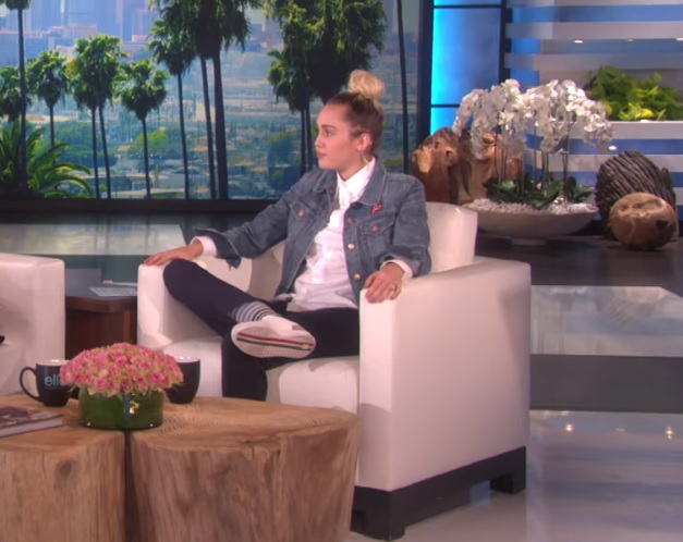 So this is what happens when Miley Cyrus takes over for Ellen (hint: It was awesome)