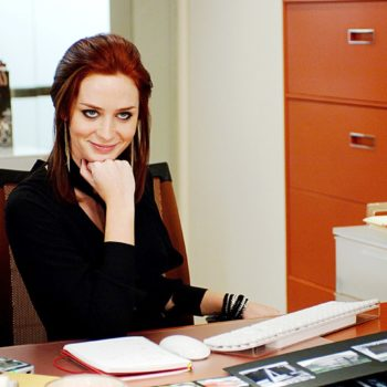 "It's adorable how many time John Krasinski has actually watched ""Devil Wears Prada"""