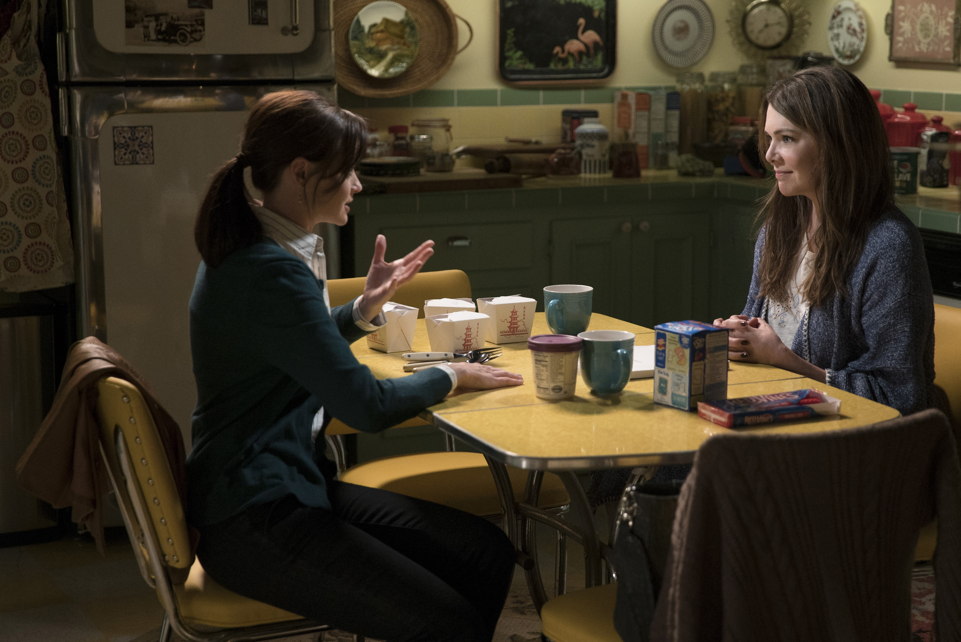 "Stop what you're doing and look at this brand new poster for ""Gilmore Girls: A Year in the Life"""