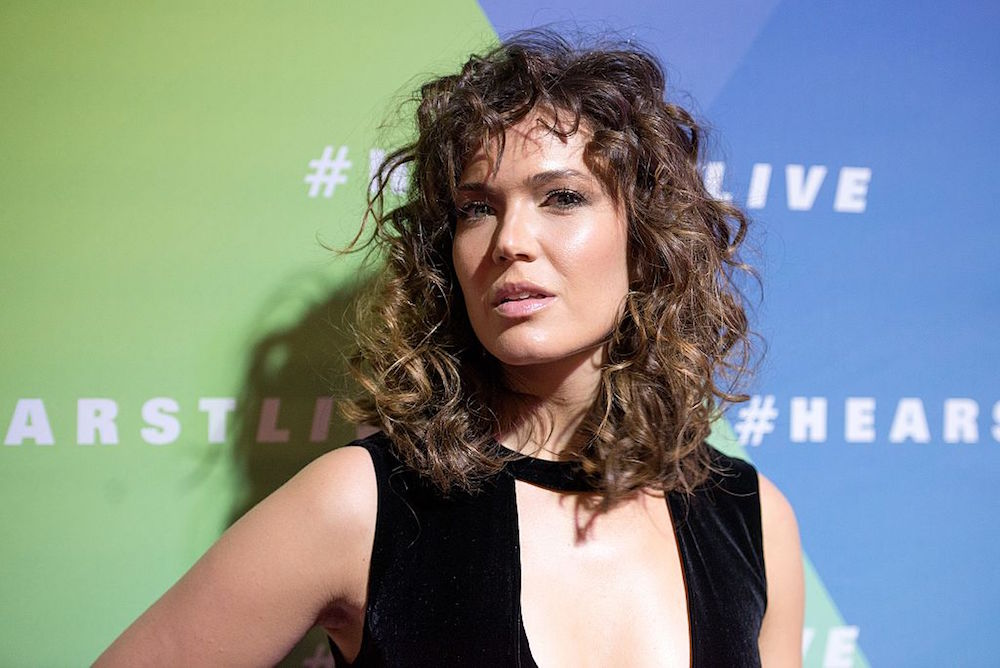 Mandy Moore's curly perm was actually inspired by these two '80s movie characters