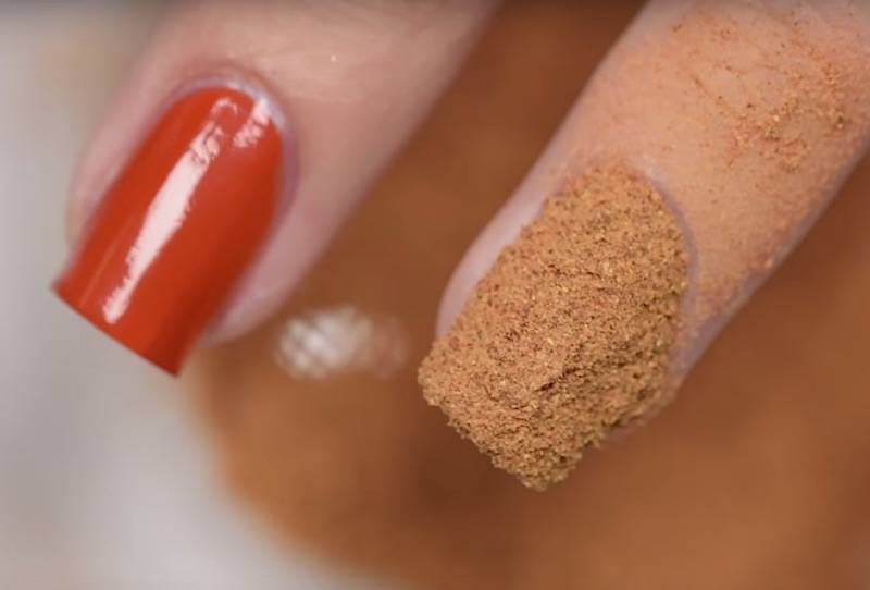 This nail art tutorial is a true sign of the pumpkin spice apocalypse