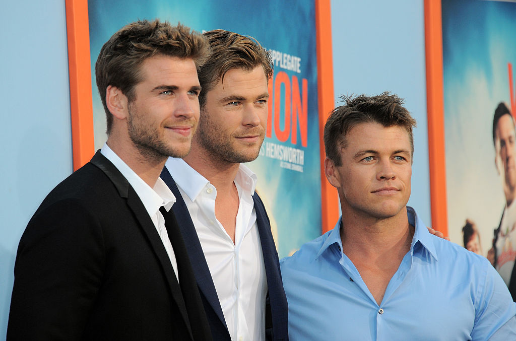 "This OTHER Hemsworth brother just turned up at the ""Westworld"" premiere and our jaws are on the floor"