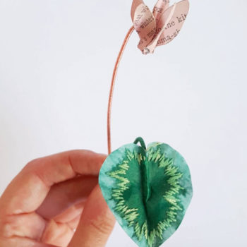 This artist turns paper into totally stunning nature sculptures, and we're in awe