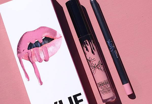 Kylie Jenner just came out with a pretty new lip kit that also helps a good cause