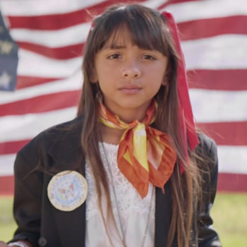 This powerful ad encouraging young women to run for office has us all inspired