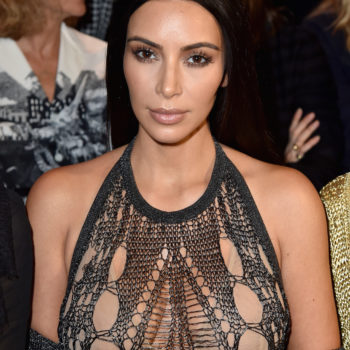 Kim Kardashian wore track pants to a fashion show and we're bowing down at the realness