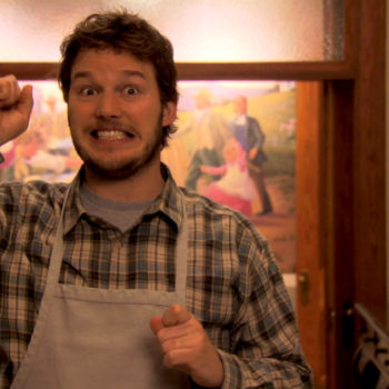 "Chris Pratt remembers one of the best scenes in ""Parks and Rec,"" makes us miss the show even more"