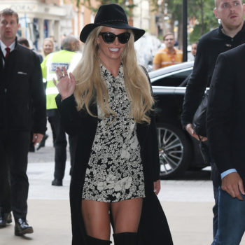 Britney Spears is on a mini romper wearing spree right now and we LOVE it