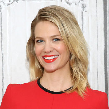 Check out the new super unique ink that January Jones got in honor of her son