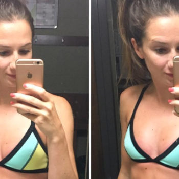 This fitness Instagrammer took two selfies that remind us no body is perfect