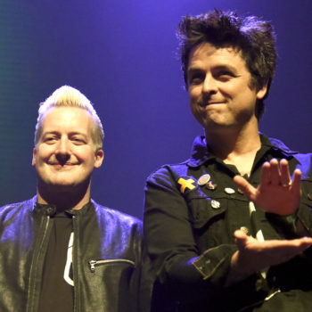 "Green Day sang ""American Idiot"" in honor of Trump, and, slow clap"