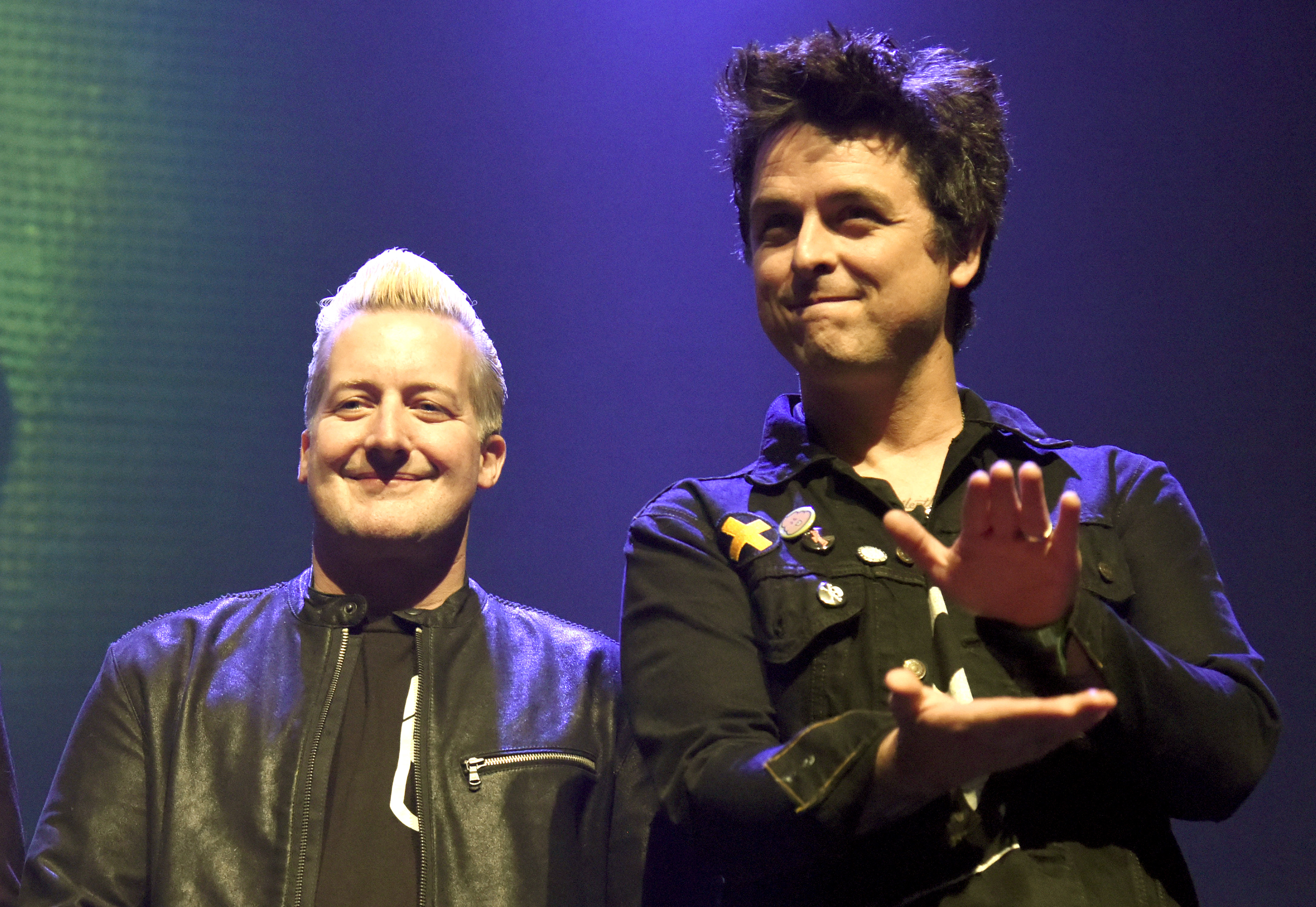 """Green Day sang """"American Idiot"""" in honor of Trump, and, slow clap"""