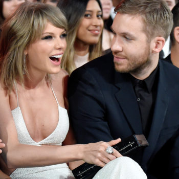 A small clip of Taylor Swift's rumored new song just leaked and it sounds like it's about Calvin Harris!