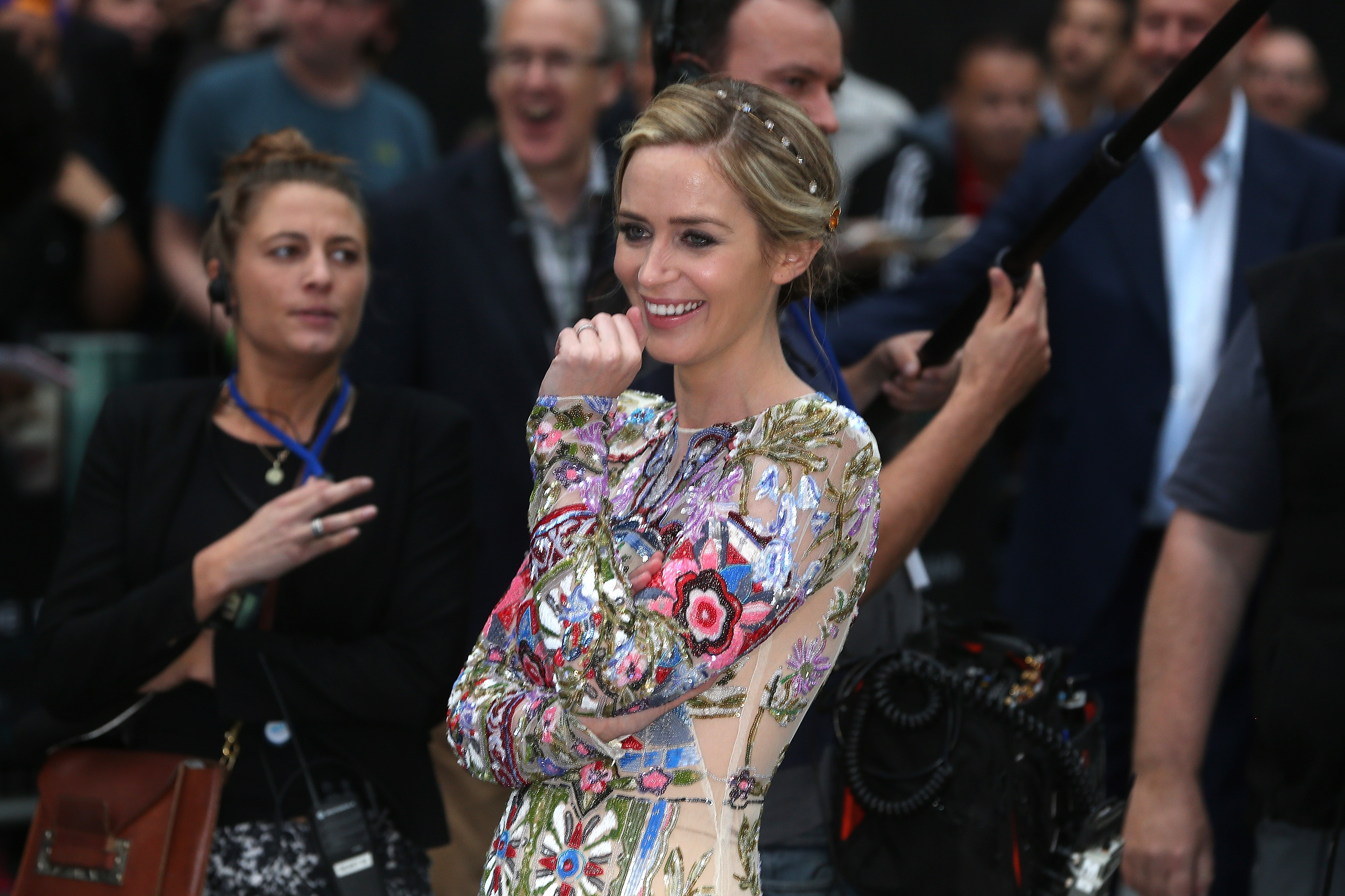 """Emily Blunt just admitted something super embarrassing about her role in """"Girl on the Train"""""""