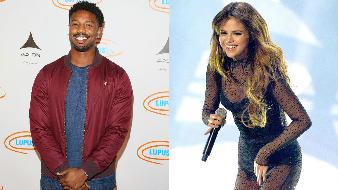 Michael B. Jordan had the kindest words for Selena Gomez on her lupus diagnosis