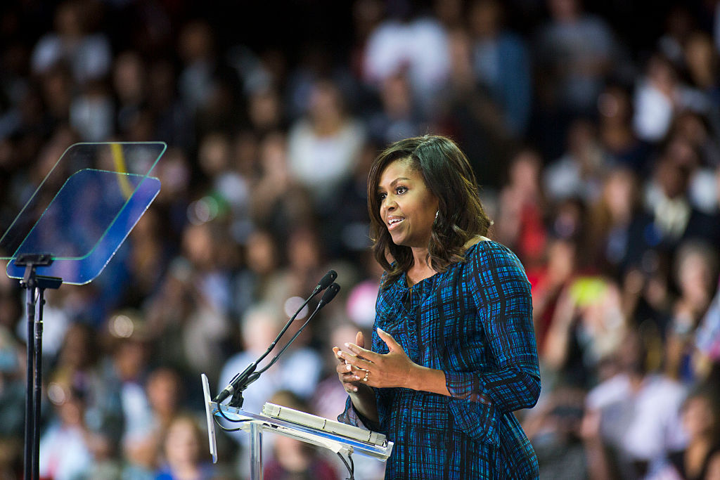 "Michelle Obama just gushed over Zendaya in a huge way, and we're like ""YEP!"""