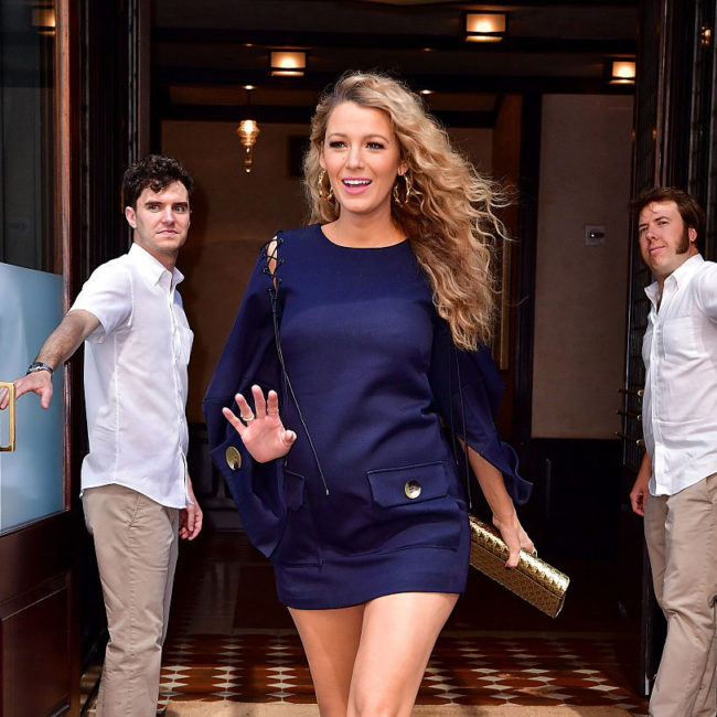Here's undeniable proof that Blake Lively is the ~QUEEN~ of maternity fashion