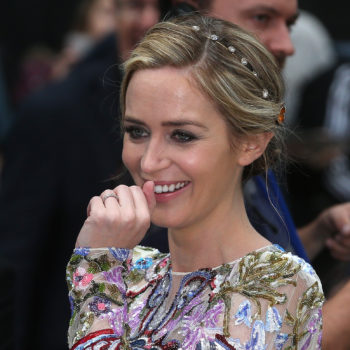 "Emily Blunt told her ""The Girl on the Train"" co-star she was pregnant in a comical way"