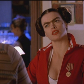 "Fran from ""Dodgeball"" is actually a gorgeous woman in real life who's been in like, every movie ever"