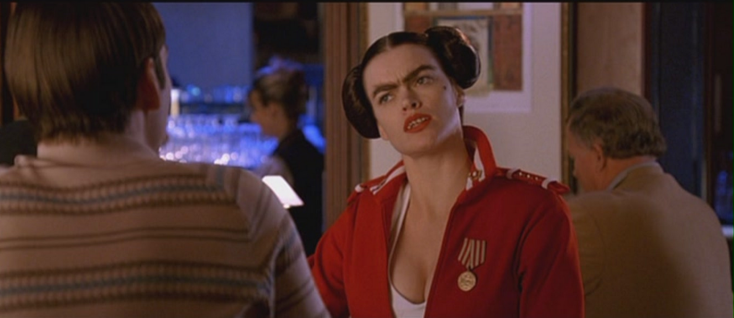 """Fran from """"Dodgeball"""" is actually a gorgeous woman in real life who's been in like, every movie ever"""