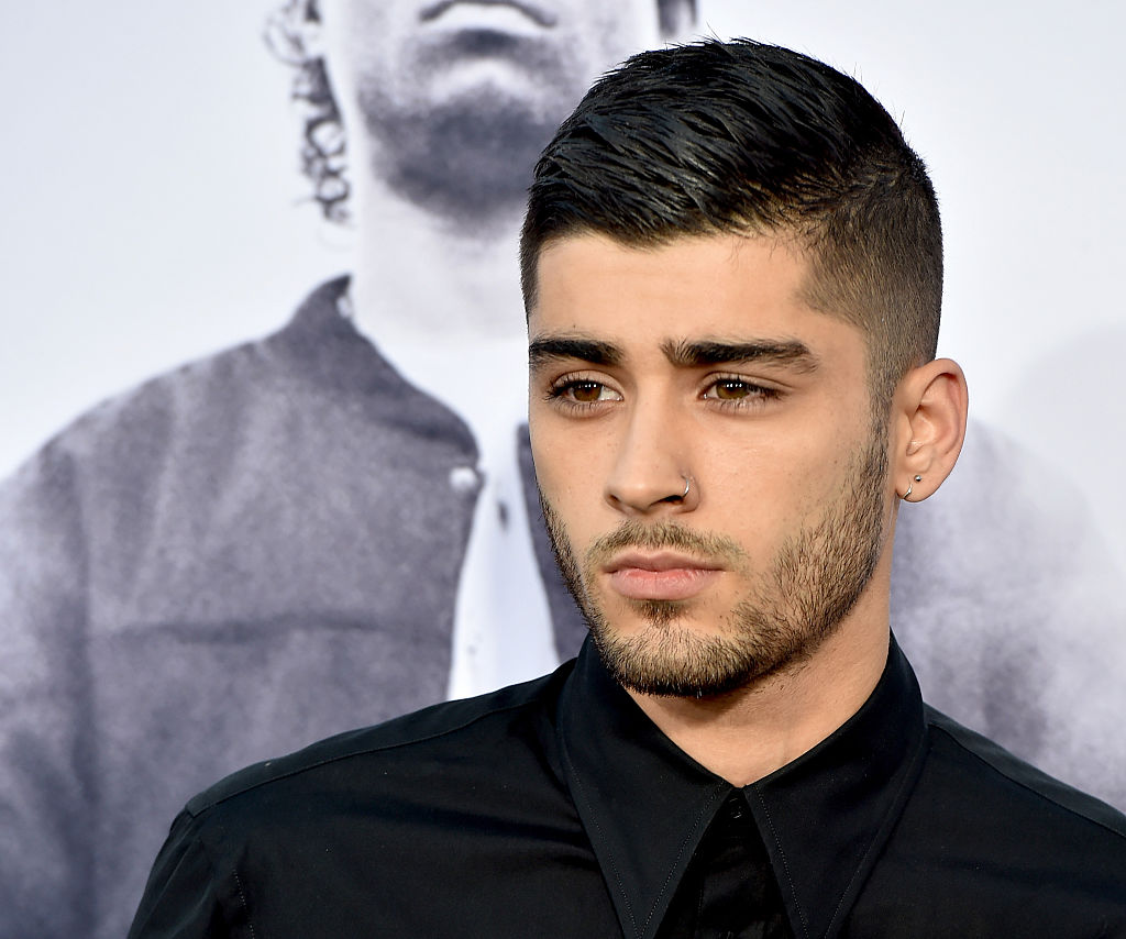 Zayn Malik shaved his beard and left a soul patch, BRB losing our minds