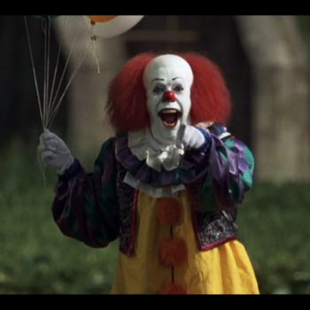 This popular theory about those freaky clowns is totally not true