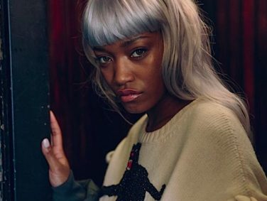 "Keke Palmer is a stunning ice queen in this photoshoot for ""Flaunt Magazine"""