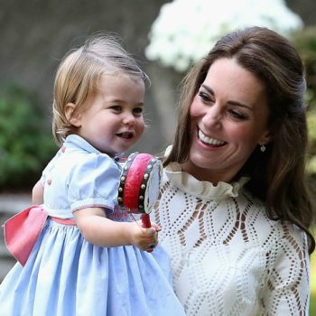 It's so cute Princess Charlotte wears her big brother's hand-me-downs!