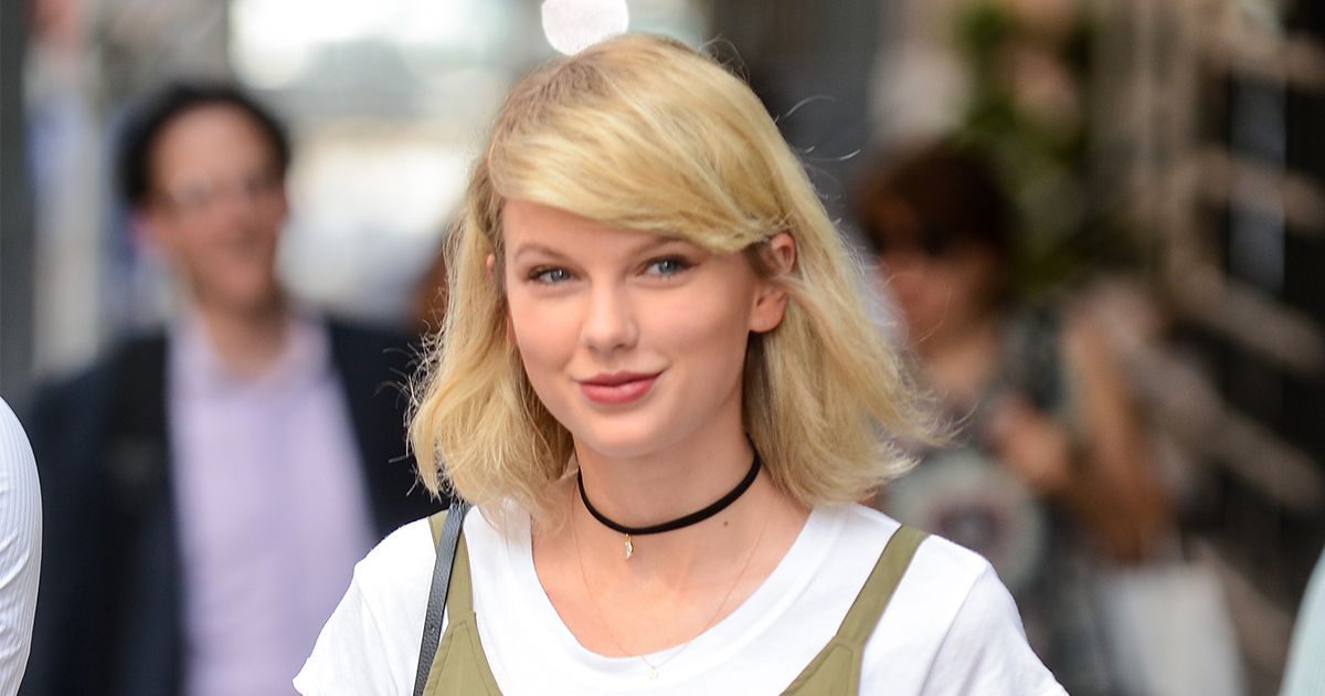 We absolutely *heart* Taylor Swift's end of summer romper