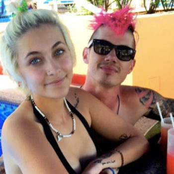 Paris Jackson and her boyfriend are having the *best* time on vacation