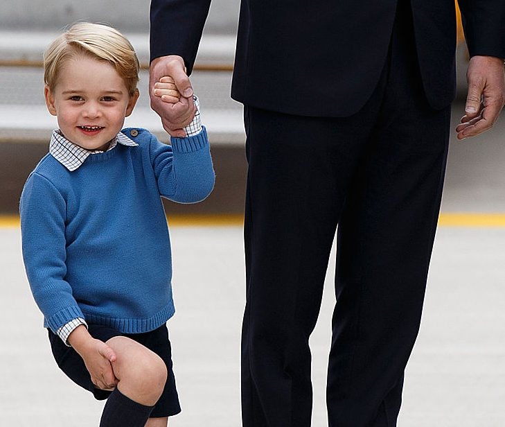 Prince George is twinning it with his uncle and we honestly can't with the cute