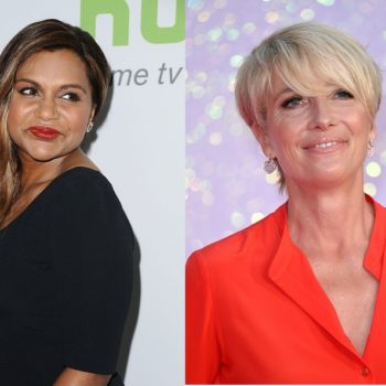 Mindy Kaling and Emma Thompson are starring in a movie together because the world loves us