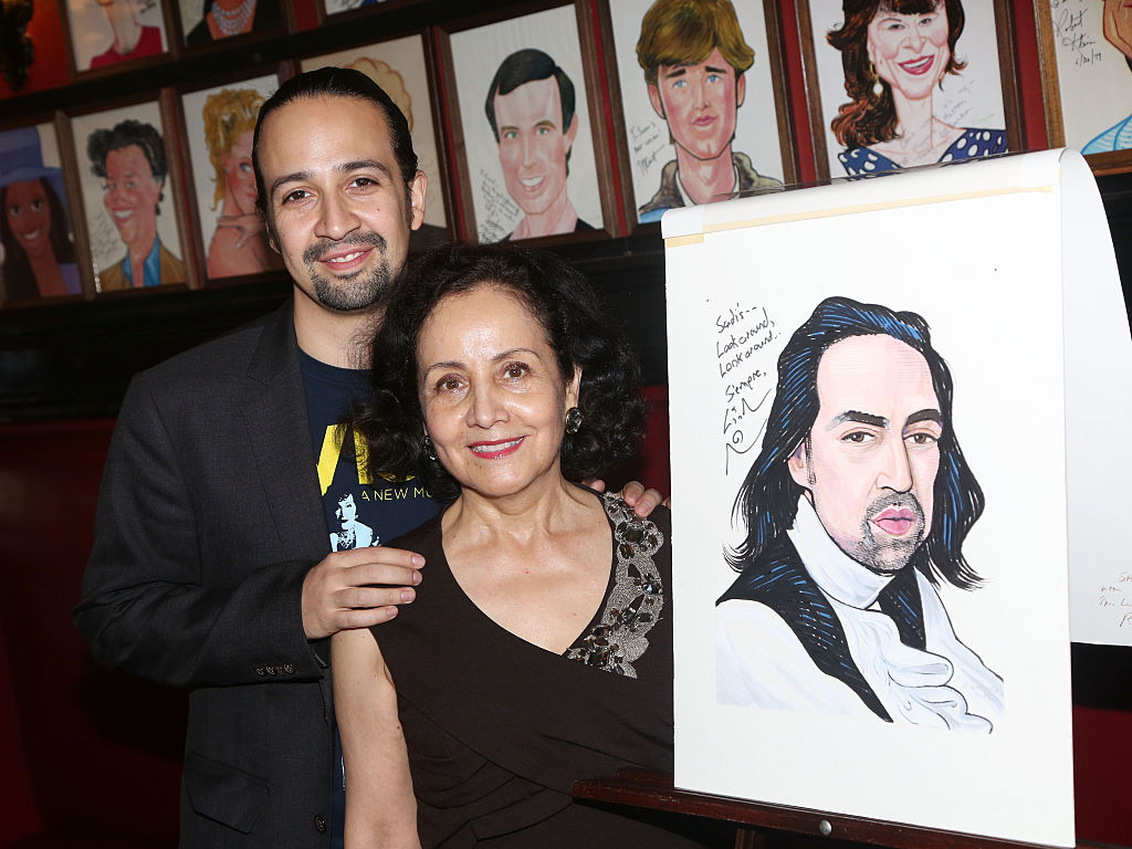 Lin-Manuel's hilarious conversation with his mom is all of us