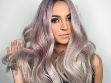 It's now WAY easier to get amazing metallic hair color, even rose gold!
