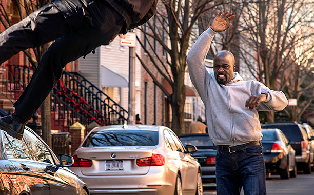 """Luke Cage"" was so popular Netflix just crashed and the Internet went downhill faster than you'd think"
