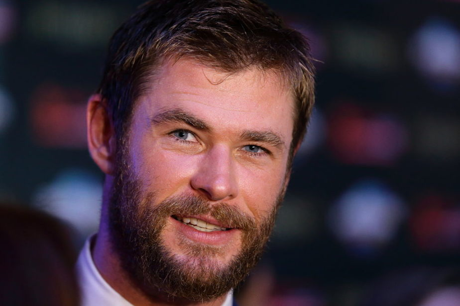 Chris Hemsworth's on-set photo from his new movie is giving us serious chills