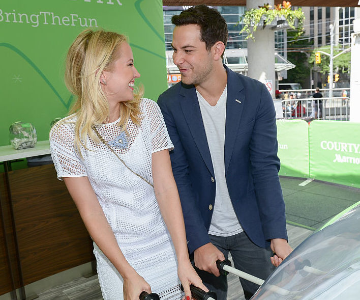 Anna Camp and Skylar Astin's honeymoon photo is everything we want from a vacation