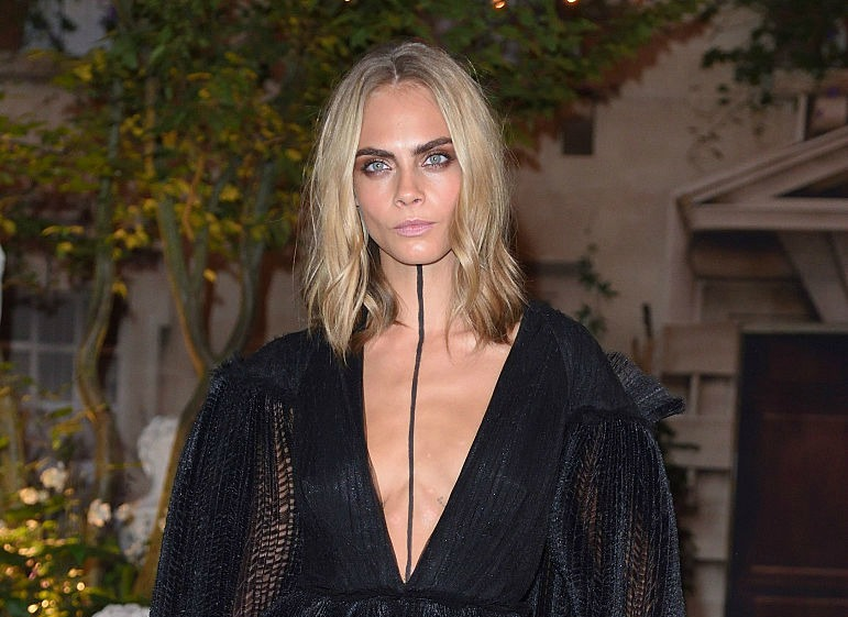 Cara Delevingne's new tattoo on the back of her neck will give you goosebumps