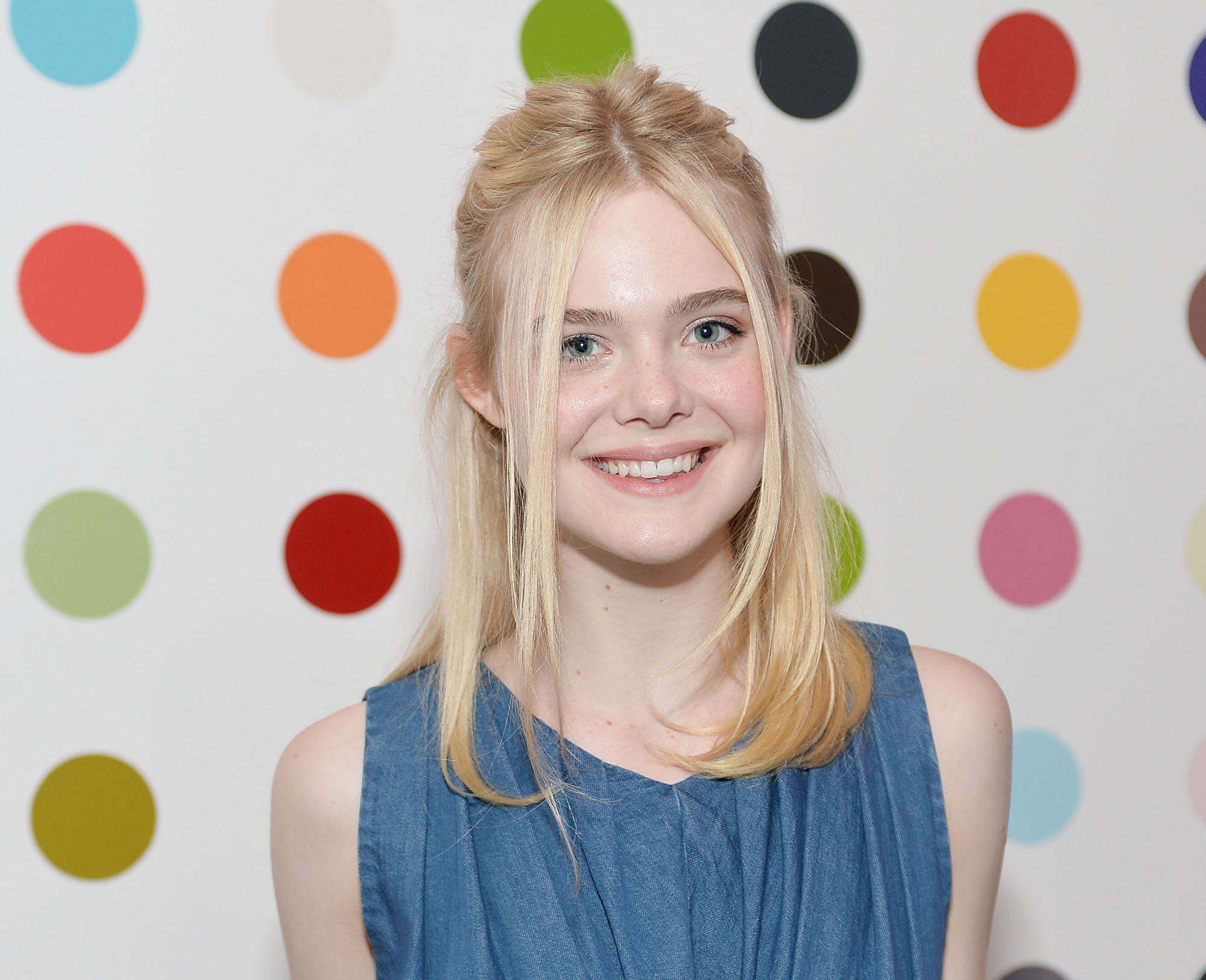 We can't get over the sunglasses Elle Fanning wore when sporting a crop-topped tennis outfit