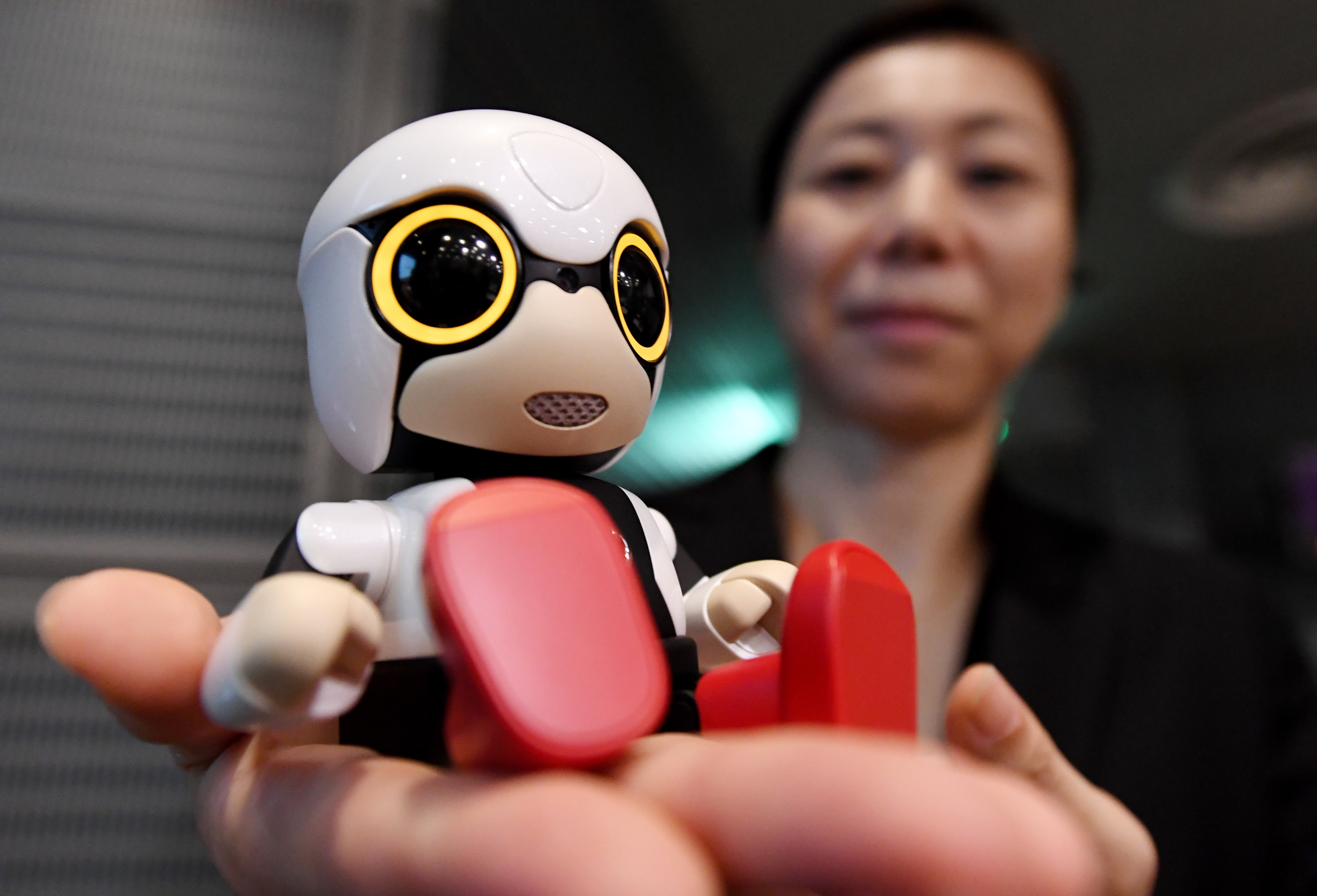 Toyota is now selling adorable toy robots in case you need one