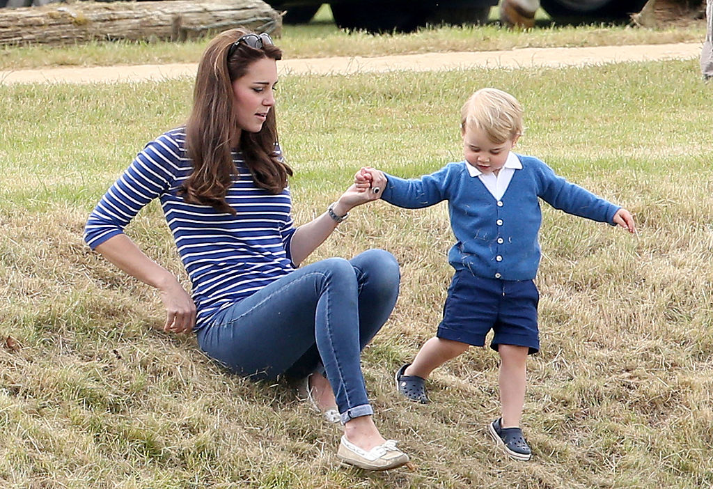The very fancy reason why Prince George always wears shorts