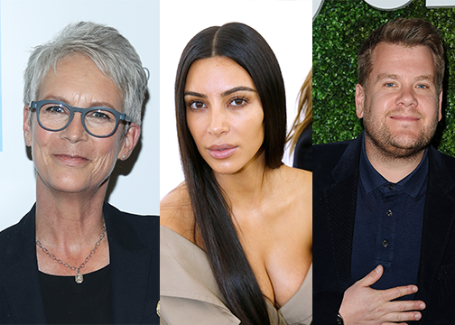 Jamie Lee Curtis praises James Corden and stands up for Kim Kardashian, because she's awesome