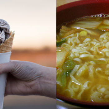 Ramen ice cream is an actual dessert that people are obsessing over