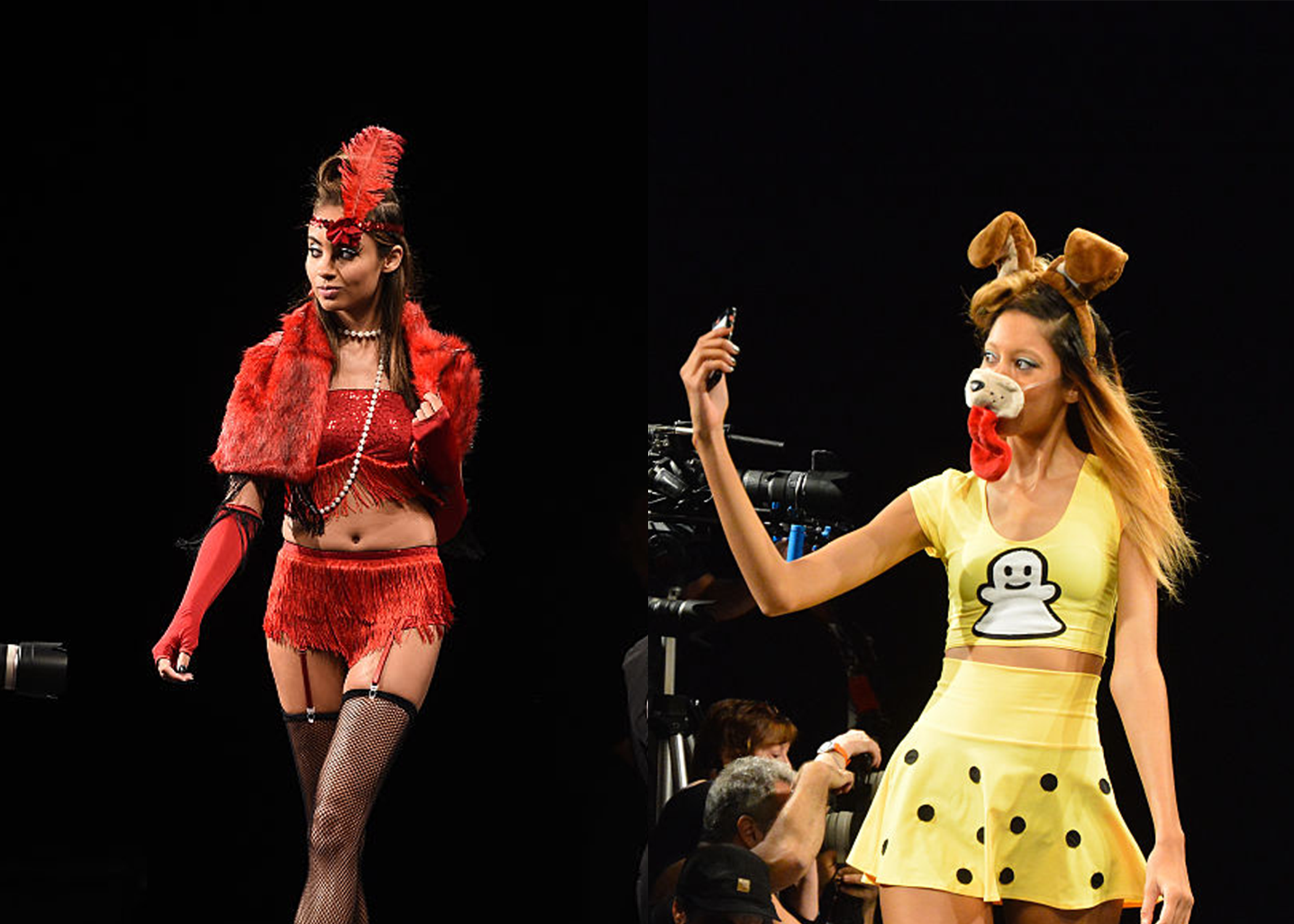 OMG there was a Halloween fashion show at NYFW, and here are the costumes we love