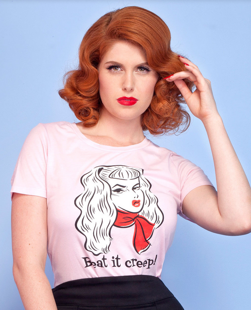Retro Icon Traci Lords Did The Most Amazing Pinup Clothing