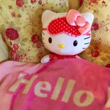 So, it seems Hello Kitty wine is a thing and we're totally on board with it