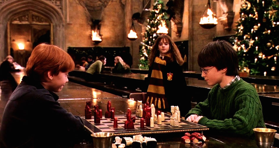 You can gobble your Christmas dinner at Hogwarts this year, because magic is real