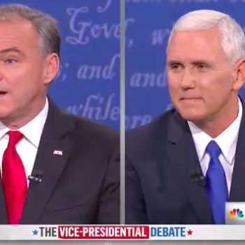 These celebs share their mixed reactions to the VP debate on social media