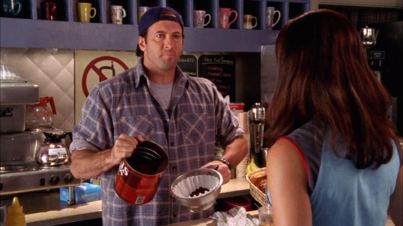 "Stop what you're doing, there's a new ""Gilmore Girls: A Year in the Life"" image of Luke"