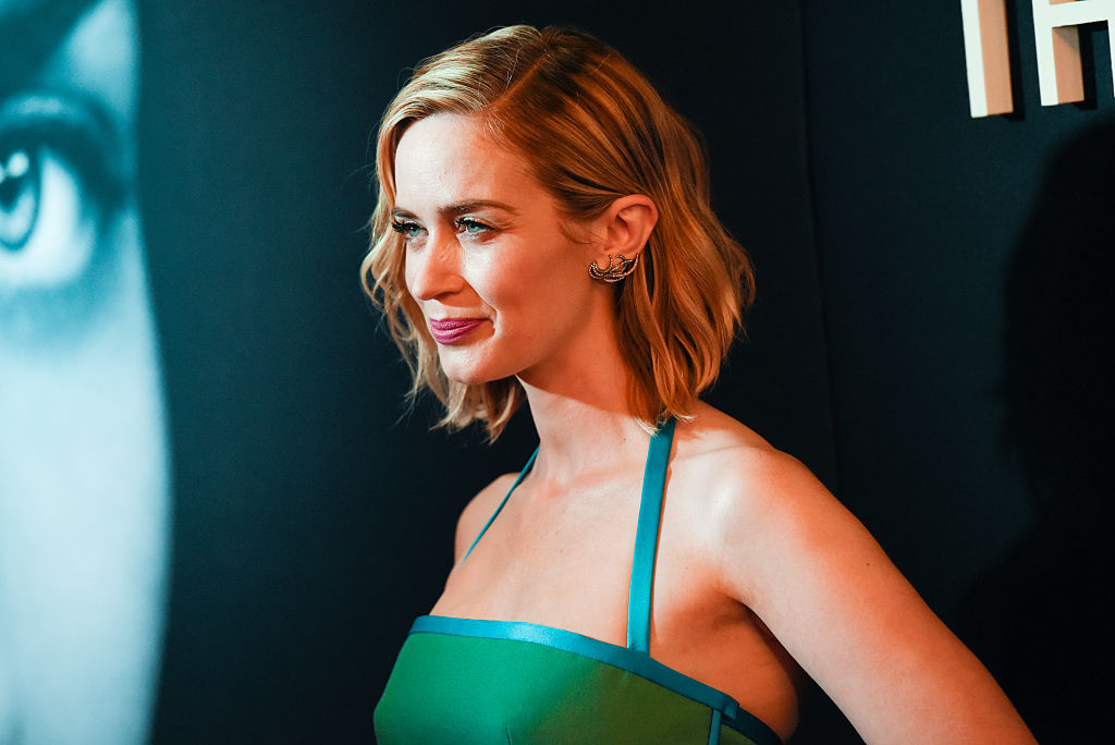 Emily Blunt's first celebrity crush is one you might not expect